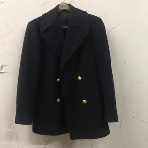 Other - Vintage US Navy Heavy Wool Pea Coat Size 34
